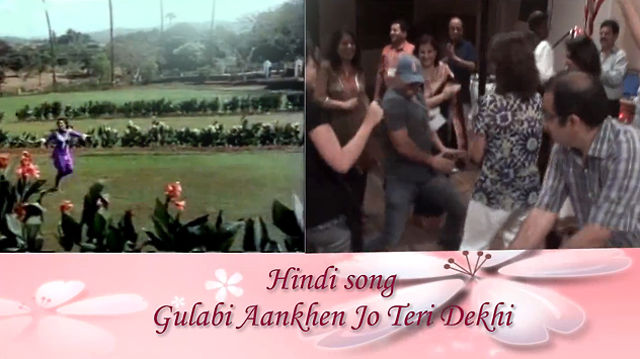 Hindi song Gulabi Ankhe on Saxaphone