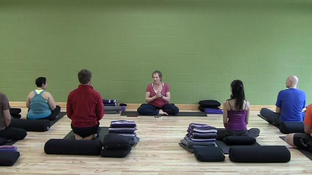 Restorative Kripalu Yoga Class with Sudha Carolyn Lundeen