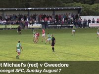Daniel McLaughlin Goal for St Michael's v Gweedore