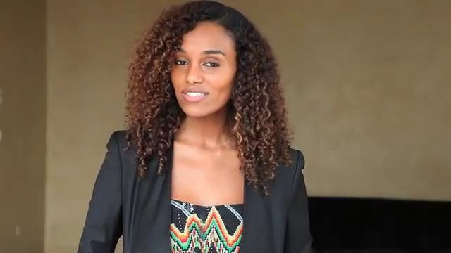 Ethiopian Super Model Gelila Bekele Call To Action