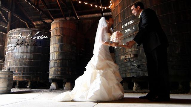 anna + landon wedding trailer