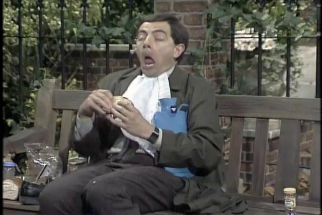 MR. BEAN DVD set commercial