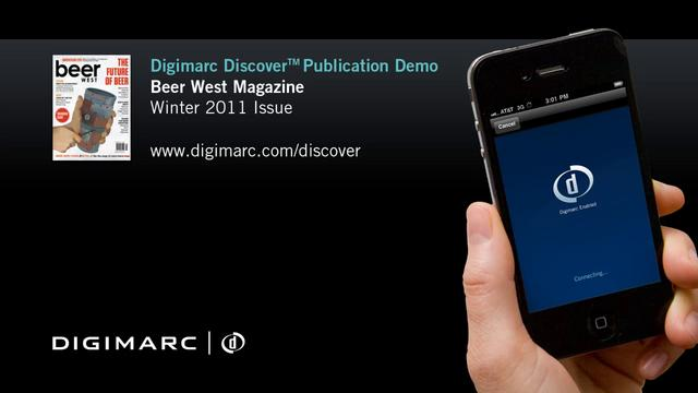 Beer West Magazine - Digimarc Discover Publication Demo