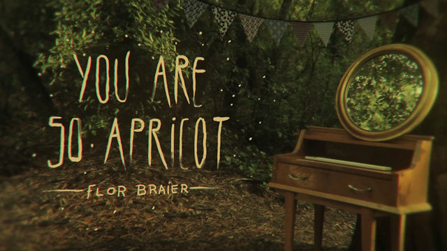 You are so apricot, by Flor Braier