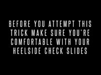 Trick Tip - Heelside Standies