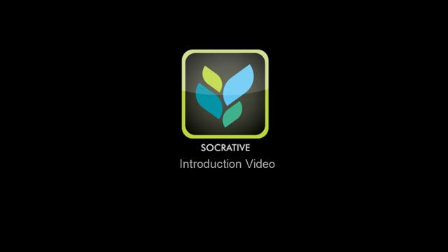 Socrative introduction video (new)