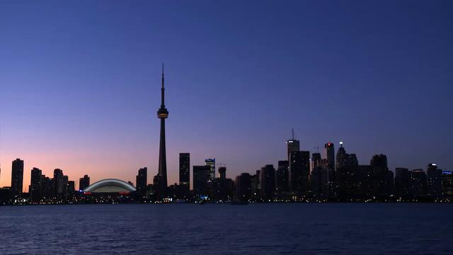 Toronto Skyline Time-lapse Video from Centre Island