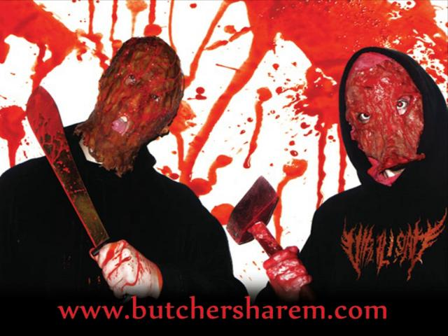 BUTCHERS HAREM -SNUFF PORN GORE - SAMPLER ALBUM OUT MID AUGUST !