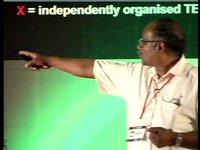 Ayyappa M. Masagi,CEO- Water Literacy Foundation at TEDx Velammal