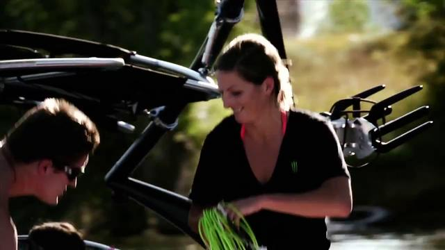 2011 Monster Energy Wake Up with Melissa Marquardt