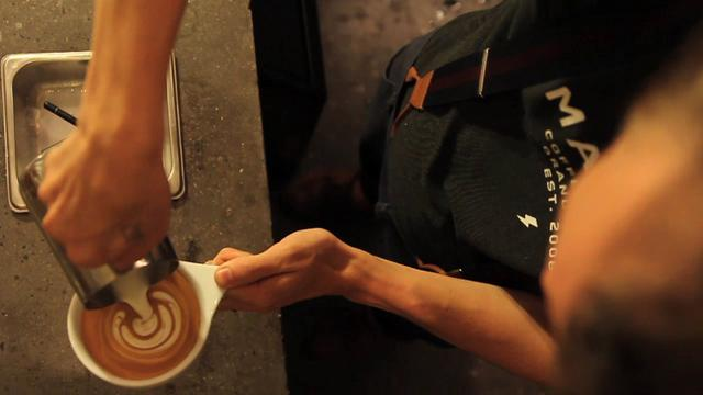 Thumbnail of video Latte Art