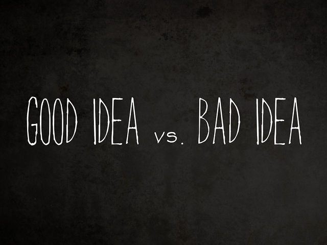 good idea vs bad idea nyg 2010 on vimeo. Black Bedroom Furniture Sets. Home Design Ideas
