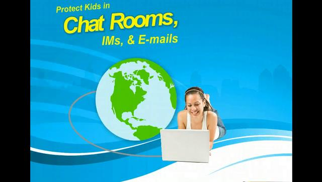 Protect kids in chat rooms ims e mails internet for Kid chat room