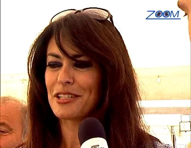 """Zoom speciale """"Maria Grazia Cucinotta madrina del Wild Ascoli"""""""