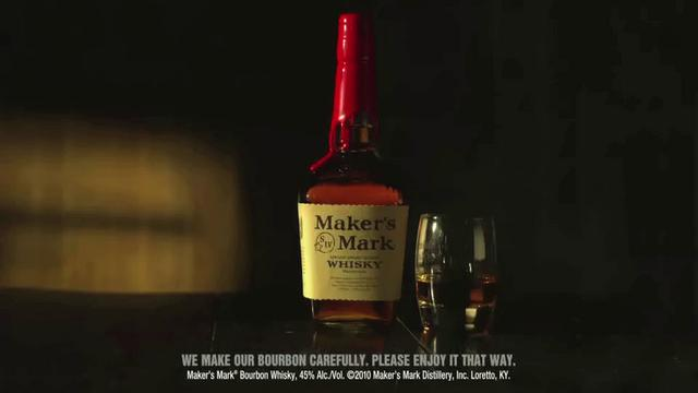 "Commercial- Makers Mark ""Shampoo"""