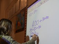 ADDING MULTI-DIGIT NUMBERS WITH REGROUPING - Grade 3 (French)