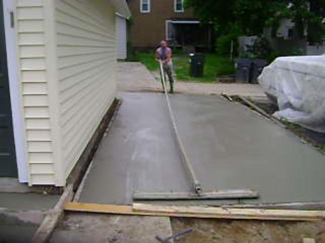 Concrete garage slab for What temperature to pour concrete outside