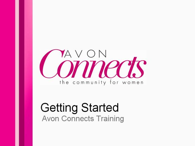 Getting Started: Avon Connect UK