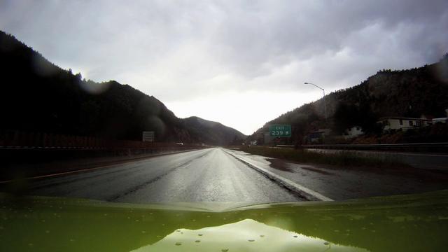 Denver to Moab (through the Rockies)