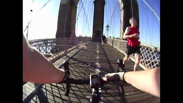 NYC Cycling Routes - Brooklyn Bridge - Manhattan to Brooklyn