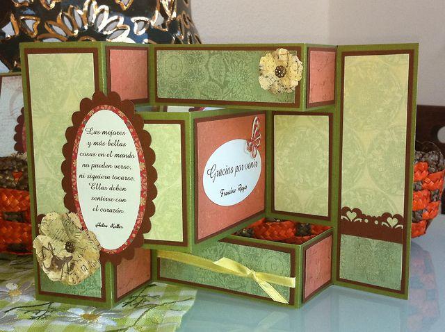 C mo hacer una tarjeta en acorde n on vimeo for Como hacer una banqueta tapizada