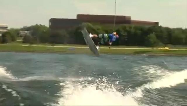 Phil Soven's Wakeboard Worlds Winning Run