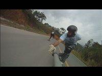 Longboard Downhill Curitiba em Luis Alves/SC