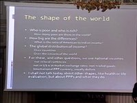 Vilfredo Pareto Lecture: &quot;Reshaping the world: prices, poverty, and inequality&quot;