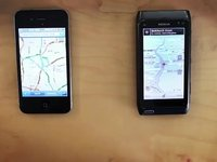 Vinger Race: Nokia Maps vs Google Maps