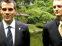 UBC Students - Emperor of Japan visit - UBC Nitobe Memorial Garden