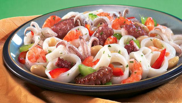 Receta: Salpicón de mariscos