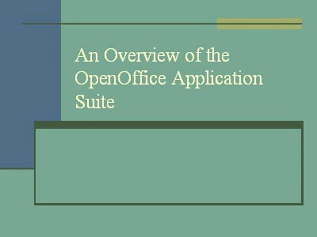 OpenOffice Calc PPT Podcast