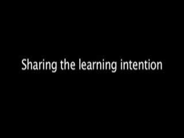 2- Methods Of Self Assessmnet Sharing The Learning Intention
