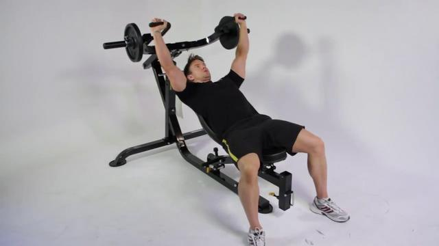 Chest Amp Triceps Workout On Powertec Workbench Multipress