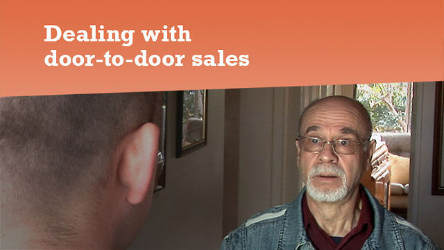 Door to door sales drama on vimeo for Door to door sales