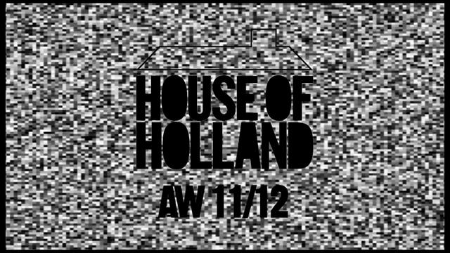 """""""HOUSE OF HOLLAND A/W 2011"""" BY SARAH CHATFIELD"""