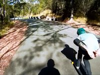 Longboarding: Frothing at Noosa Hill Climb - BFL - Downhill