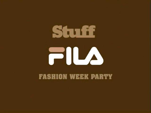 Fila Fashion week Event