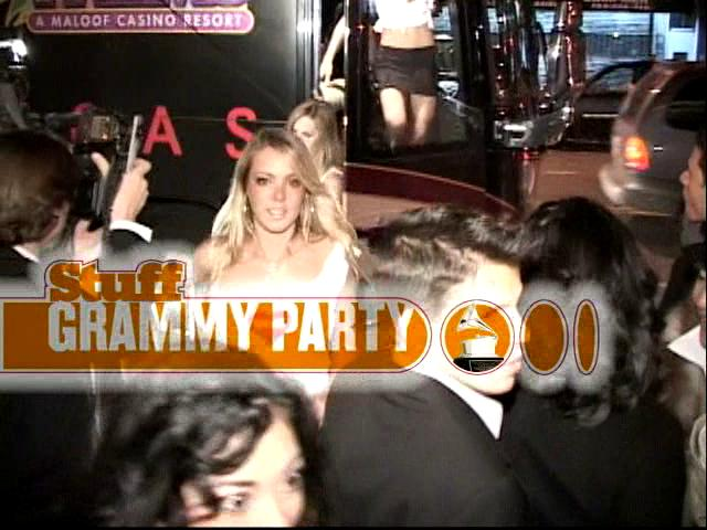 Grammy Party with Stuff Magazine