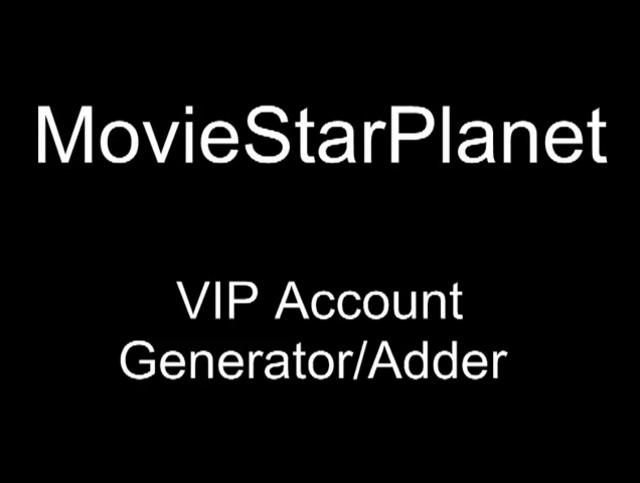 MoviestarPlanet VIP generator for all countries - free download