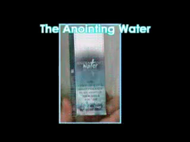 Anointing Water - Greece Branch