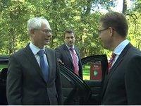 Herman VAN ROMPUY visits Finland