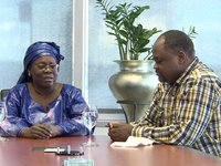 Rencontre au Sommet avec la ministre du tourisme Nigérien, Mme Baaré
