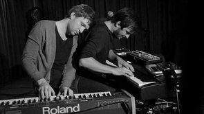 Ólafur Arnalds & Nils Frahm live improvisation at Roter Salon – Volksbühne Berlin