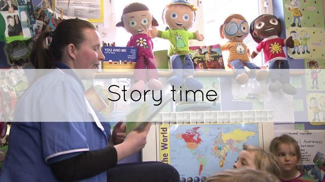 Storytime Preschoolers