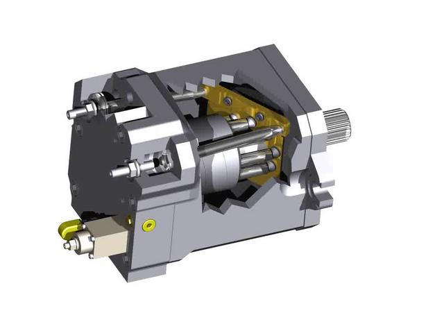 Hmv Hydraulic Motor On Vimeo
