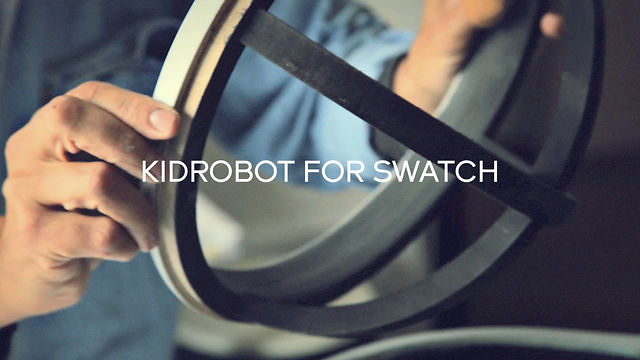 Video: Kidrobot for Swatch  What&#8217;s Behind