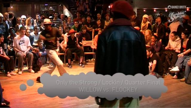 Funkin' Stylez 2009 - Locking - Willow vs Flockey