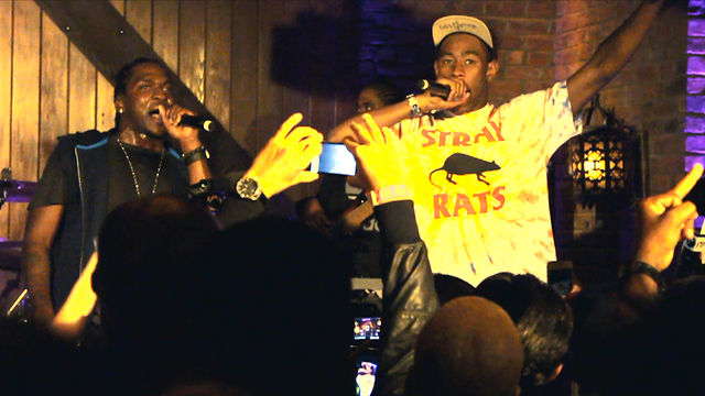 Video: Pusha T &#038; Tyler, The Creator &#8211; Trouble On My Mind (Live In New York City)