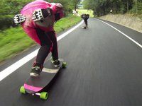 Longskate Downhill, Women Final , Teolo Padova igsa race